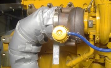 大型转装置排气管隔热保温套