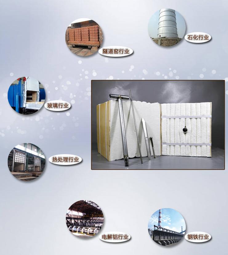 硅酸铝陶瓷纤维模块应用