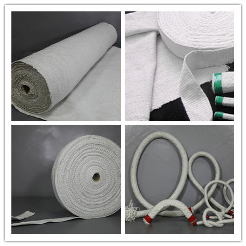 硅酸铝陶瓷纤维布、带、绳