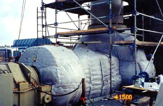 电厂高温隔热解决方案