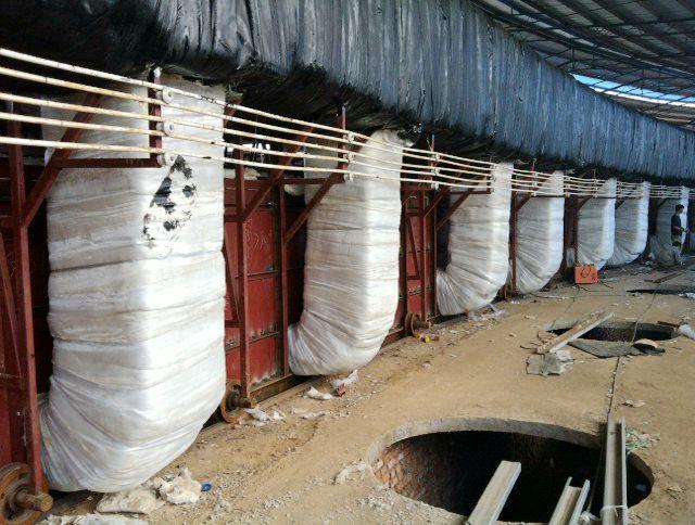 移动式隧道窑陶瓷纤维高温隔热解决方案