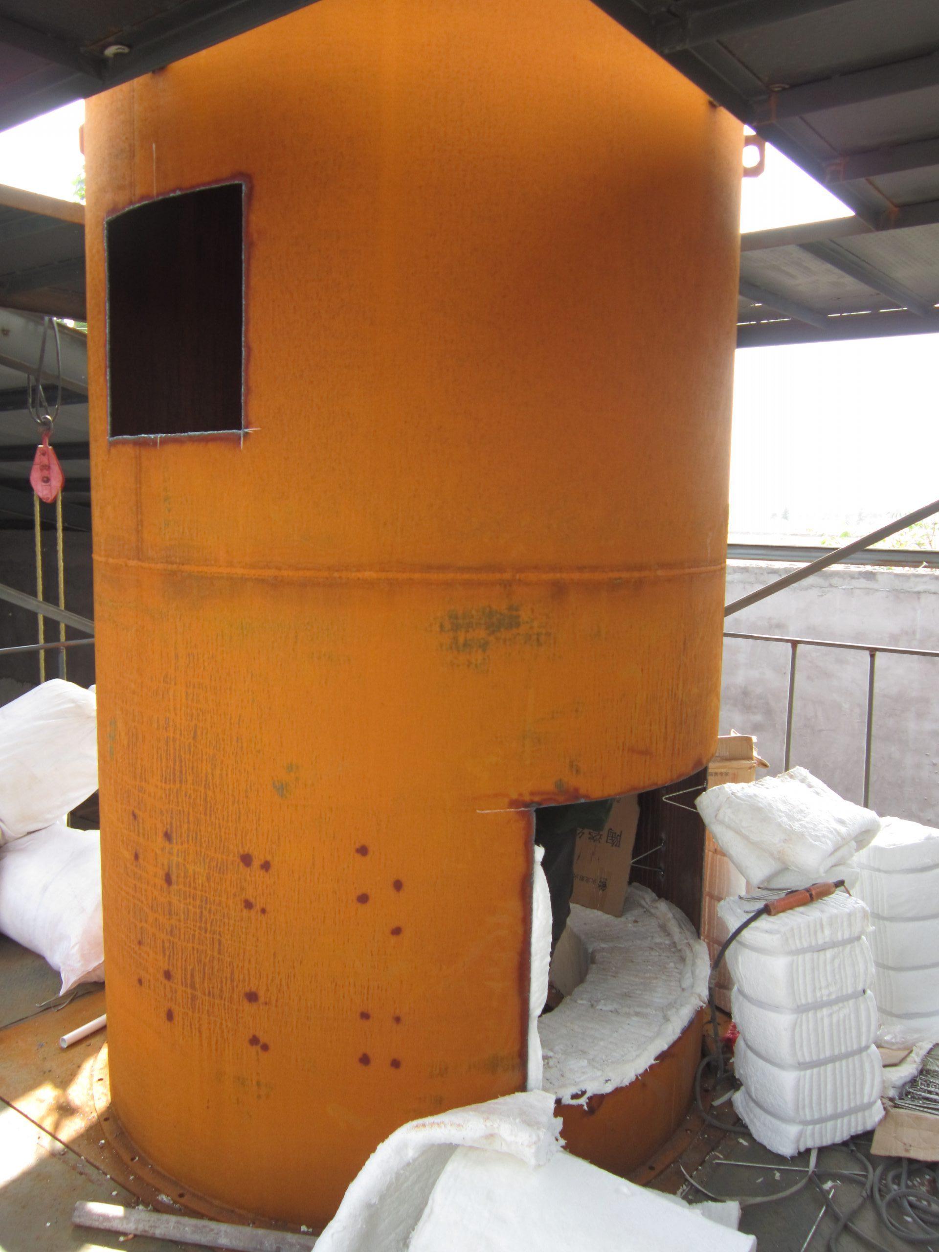 井式炉保温层施工