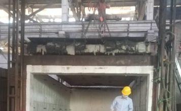 太原工业炉施工现场