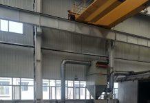 青岛工业炉施工现场