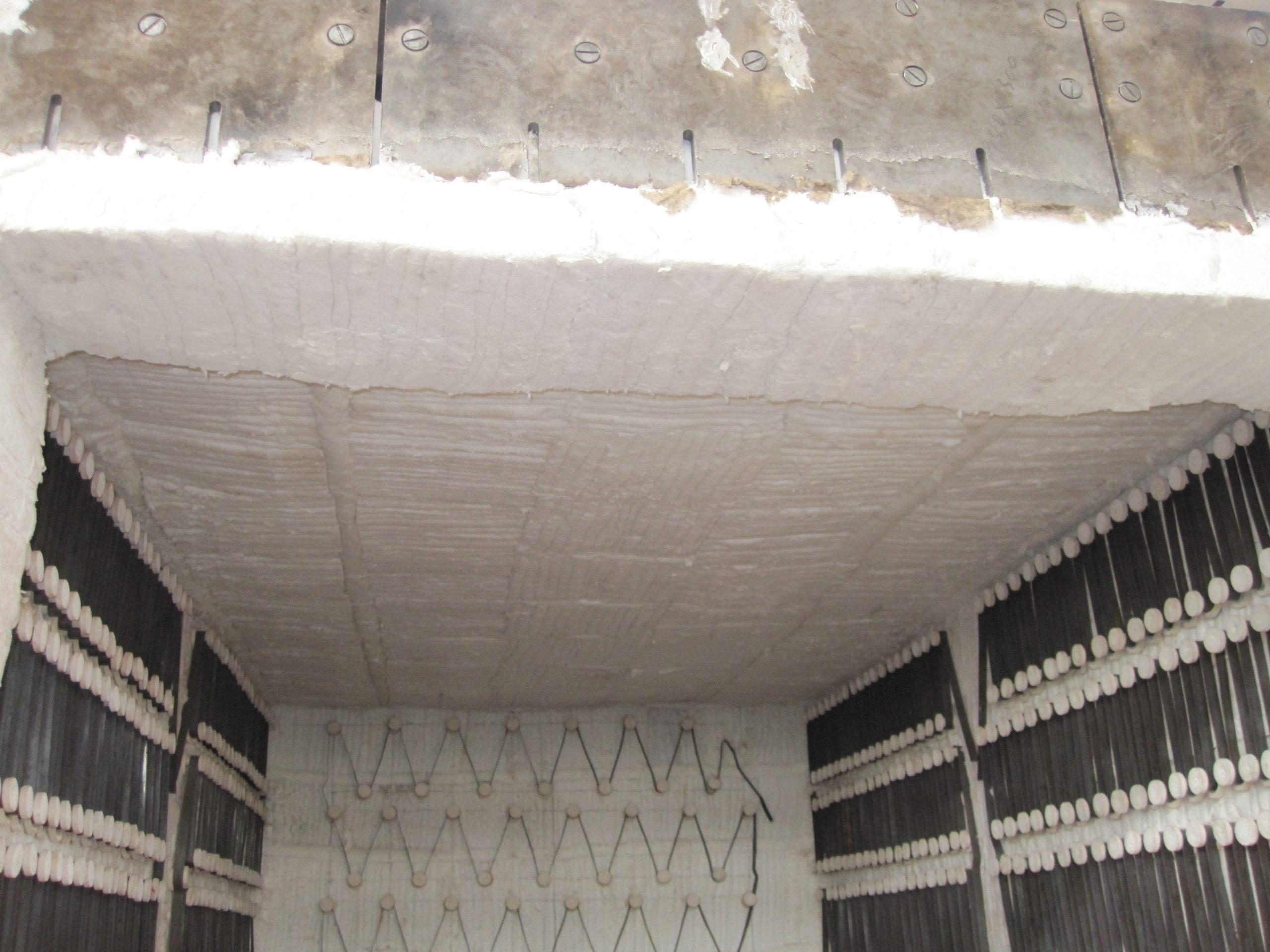 台车式电阻炉全纤维保温层