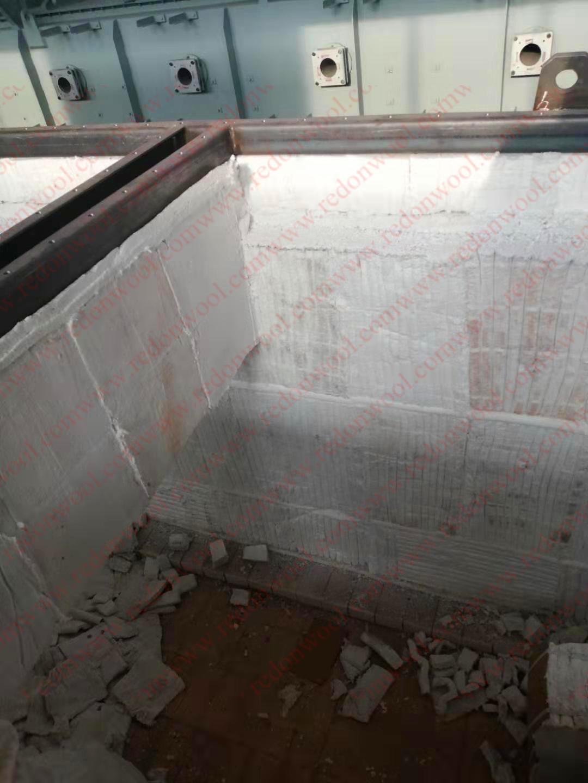 辊底炉保温层施工